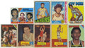 Basketball Cards:Lots, 1957-1976 Topps Basketball Group Lot of 21. Nice vintage basketballcard group. Highlights include 1957-58 Topps #13 Dolph ...