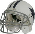 Football Collectibles:Helmets, 2006 Patrick Watkins Game Worn Helmet. Offered here is a white Riddell Dallas Cowboys throwback helmet worn during the team'...