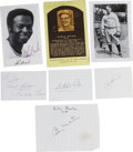 Autographs:Others, Baseball Stars Assorted Signatures Lot of 13. A baker's dozen ofexceptional signatures represents a great amount of star p...