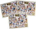 """Autographs:Others, 1991 Upper Deck Collector Series Signed Sheets Lot of 3. Threeidentical 8.5x11"""" signed sheets released by Upper Deck in 19..."""