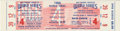 Baseball Collectibles:Tickets, 1966 World Series Full Ticket. From the Baltimore end of the 1966World Series we offer this fine Game 4 full ticket. From...