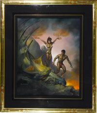 "Boris Vallejo - ""Medea"" Painting Original Art (1990)"