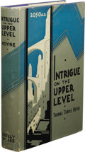 Books:First Editions, Thomas Temple Hoyne: Intrigue on the Upper Level: A Storyof Crime, Love, Adventure and Revolt in 2050 A. D. (Chicag...