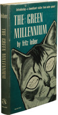 Books:First Editions, Fritz Leiber: The Green Millennium. (New York: AbelardPress, 1953), first edition, 256 pages, bound in brown cloth,8vo...