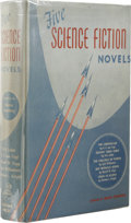 Books:First Editions, Martin Greenberg, editor: Five Science Fiction Novels. (NewYork: Gnome Press, Inc., 1952), first edition, 382 page...