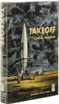 Books:First Editions, Cyril M. Kornbluth: Takeoff. (Garden City, New York:Doubleday, 1952), first edition, 218 pages, brown cloth with darkb...