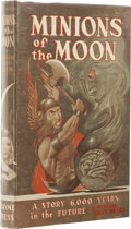 Books:First Editions, William Gray Beyer: Minions of the Moon. (New York: GnomePress, 1950), first edition, 190 pages, dust jacket by Edd Car...