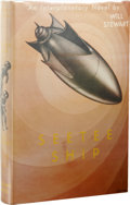 Books:Signed Editions, Will Stewart Inscribed Review Copy: Seetee Ship. (New York:Gnome Press, 1951), first edition, 255 pages, jacket by Edd ...