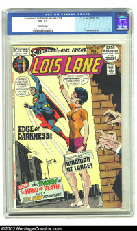 Superman's Girl Friend Lois Lane #118 (DC, 1972) CGC NM 9.4 Off-white pages. Great Bronze 52 Page issue. Rich Buckler ar...