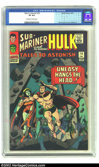 Tales to Astonish #76 (Marvel, 1966) CGC VF 8.0 Off-white to white pages. Gene Colan art. Overstreet 2002 VF 8.0 value =...