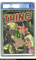 Golden Age (1938-1955):Horror, The Thing! #5 (Charlton, 1952) CGC GD/VG 3.0 Off-white pages.Severed head cover by Lou Morales. Overstreet 2002 GD 2.0 valu...