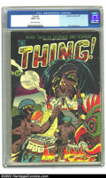 Golden Age (1938-1955):Horror, The Thing! #6 (Charlton, 1953) CGC GD/VG 3.0 Slightly brittlepages. Dick Giordano art. Overstreet 2002 GD 2.0 value = $50; ...