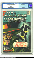 Silver Age (1956-1969):Horror, This Magazine Is Haunted v2 #16 (Fawcett, 1958) CGC VG/FN 5.0Off-white pages. Steve Ditko art. Overstreet 2002 GD 2.0 value...