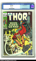 Bronze Age (1970-1979):Superhero, Thor #180 (Marvel, 1970) CGC NM- 9.2 Off-white pages. Overstreet 2002 NM 9.4 value = $40....