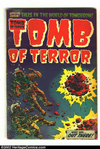 Tomb of Terror #13 (Harvey, 1954) Condition: FA/GD. Overstreet 2002 GD 2.0 value = $33. From the collection of Bobby Har...
