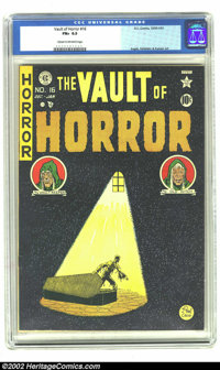 Vault of Horror #16 (EC, 1950) CGC FN+ 6.5 Cream to off-white pages. Johnny Craig cover. Ingels, Kamen, and Feldstein ar...