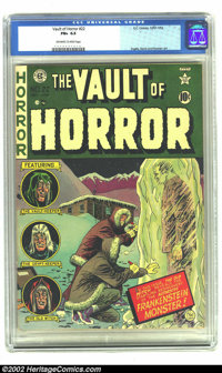 Vault of Horror #22 (EC, 1951) CGC FN+ 6.5 Off-white to white pages. Johnny Craig cover. Ingels, Davis, and Kamen art. O...
