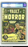Golden Age (1938-1955):Horror, Vault of Horror #24 (EC, 1952) CGC VF- 7.5 Off-white pages. Craigcover. Davis, Orlando, and Ingels art. Overstreet 2002 VF ...