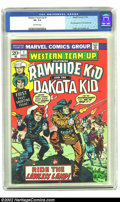 Bronze Age (1970-1979):Western, Western Team-Up #1 (Marvel, 1973) CGC VF- 7.5 Off-white pages. Features the Rawhide Kid and the Dakota Kid (first appearance...