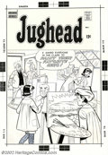 Original Comic Art:Covers, Unknown Artist - Cover Art to Jughead (Archie, 1960s). We don'tknow the artist or the exact issue number, but we do kno...