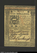 Colonial Notes:Pennsylvania, October 1, 1773, 10s, Pennsylvania, PA-167, XF-AU. This is a ...