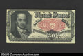 Fractional Currency:Fifth Issue, Fifth Issue 50c, Fr-1381, AU. A tightly margined Crawford ...