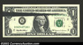 Error Notes:Error Group Lots, 1995 $1 Federal Reserve Notes, Fr-1925-B, Choice CU, three ...