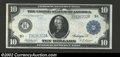 Large Size:Federal Reserve Notes, 1914 $10 Federal Reserve Note, Fr-938, XF. A nice high grade ...