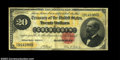 Large Size:Gold Certificates, Fr. 1178 $20 1882 Gold Certificate Very Fine. Well ...
