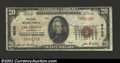 National Bank Notes:Colorado, Las Animas, CO - $20 1929 Ty. 1 The First NB Ch. # ...