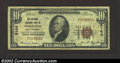 National Bank Notes:West Virginia, Wheeling, WV - $10 1929 Ty. 1 National Exchange Bank of ...
