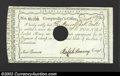 Colonial Notes:Connecticut, Interest Certificate of Hartford, CT, Anderson-54, Choice CU. ...