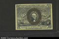 Fractional Currency:Second Issue, Second Issue 50c, Fr-1317, Choice AU. This note has the ...