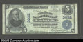 National Bank Notes:Tennessee, Nashville, TN - $5 1902 Plain Back Fr. 598 American ...
