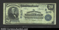 National Bank Notes:Virginia, Clifton Forge, VA - $20 1902 Plain Back Fr. 652 Clifton ...