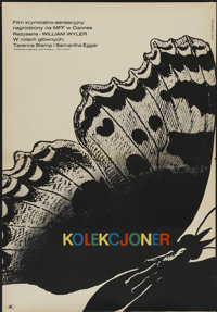 """The Collector (CWF, 1965). Polish One Sheet (23"""" X 33""""). Thriller"""