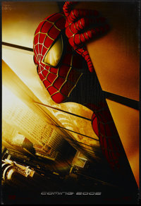 """Spider-Man (Columbia, 2002). One Sheet (27"""" X 40"""") Advance DS. Action"""