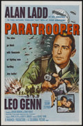 "Movie Posters:War, Paratrooper (Columbia, R-1958). One Sheet (27"" X 41""). War...."