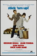"Movie Posters:Comedy, Fun with Dick and Jane (Columbia, 1977). International One Sheet (27"" X 41""). Comedy...."