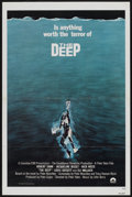 "Movie Posters:Adventure, The Deep (Columbia, 1977). One Sheet (27"" X 41"") Tri-Folded.Adventure...."