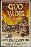 "Movie Posters:Historical Drama, Quo Vadis (MGM, 1951). One Sheet (27"" X 41""). Historical Drama...."