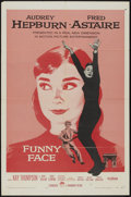 "Movie Posters:Romance, Funny Face (Paramount, 1957). One Sheet (27"" X 41""). Romance...."