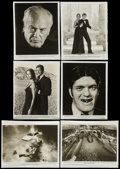 """Movie Posters:James Bond, The Spy Who Loved Me (United Artists, 1977). Black and White Stills(6) (8"""" X 10""""). James Bond.... (Total: 6 Items)"""