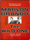 "Movie Posters:Drama, The Wild One (Columbia, 1953). Pressbook (Multiple Pages) (12"" X 16""). Drama...."