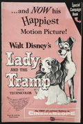 Movie Posters:Animated, Lady and the Tramp (Buena Vista, 1955). Pressbook (Multiple Pages). Animated....