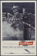 """Movie Posters:Western, 3:10 to Yuma (Columbia, 1957). One Sheet (27"""" X 41""""). Western...."""