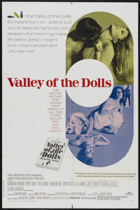 """Valley of the Dolls (20th Century Fox, 1967). One Sheet (27"""" X 41""""). Cult Classic"""