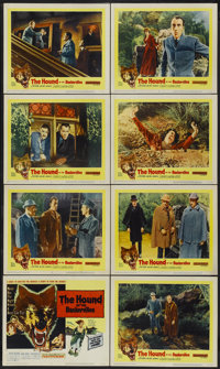 """The Hound of the Baskervilles (United Artists, 1959). Lobby Card Set of 8 (11"""" X 14""""). Mystery.... (Total: 8 I..."""