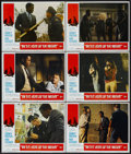 "Movie Posters:Academy Award Winner, In the Heat of the Night (United Artists, 1967). Lobby Cards (6)(11"" X 14""). Academy Award Winner.... (Total: 6 Items)"