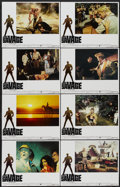 """Movie Posters:Adventure, Doc Savage: The Man of Bronze (Warner Brothers, 1975). Lobby CardSet of 8 (11"""" X 14""""). Adventure.... (Total: 8 Items)"""